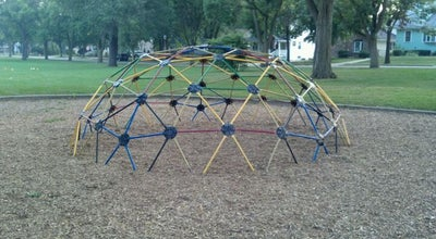 """Photo of Playground The Commons """"Orange"""" Park at 433 E. St. Charles Rd., Lombard, IL 60148, United States"""