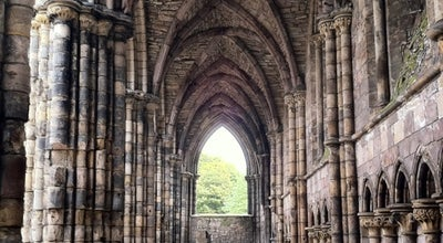 Photo of Historic Site Holyrood Abbey at Palace Of Holyroodhouse Holyrood Rd, Edinburgh EH8 8AE, United Kingdom