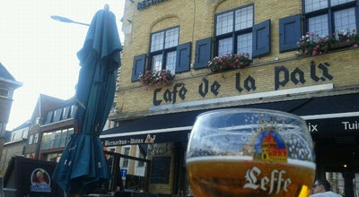 Photo of Seafood Restaurant Cafe De La Paix at Grote Markt 13, Poperinge 8970, Belgium
