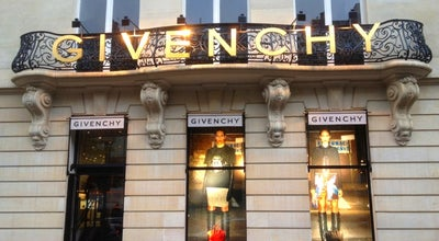 Photo of Accessories Store Givenchy at 3 Avenue George V, Paris 75008, France
