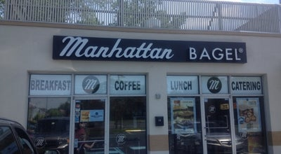 Photo of Bagel Shop Manhattan Bagel at 13 W Camden Ave, Moorestown, NJ 08057, United States