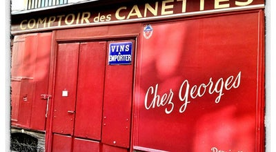 Photo of Wine Bar Chez Georges at 11 Rue Des Canettes, Paris 75006, France