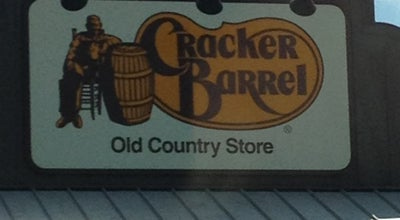 Photo of American Restaurant Cracker Barrel Old Country Store at 105 Hoffman Drive I-85 & Highway 19, LaGrange, GA 30241, United States