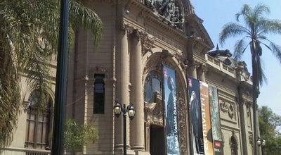 Photo of Art Museum Museo Nacional de Bellas Artes at Parque Forestal, Santiago, Chile