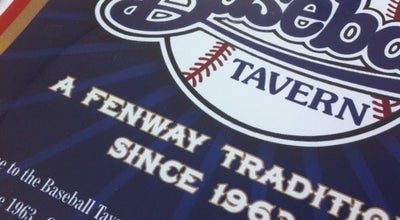 Photo of Sports Bar Baseball Tavern at 1270 Boylston St, Boston, MA 02215, United States