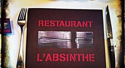 Photo of Bistro L'Absinthe at 24 Place Du Marché Saint-honoré, Paris 75001, France