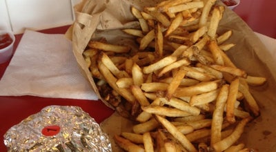 Photo of Burger Joint Five Guys Burgers & Fries at 4120 Main At North Hills St, Raleigh, NC 27609, United States