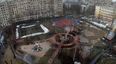 Photo of Playground Московский дворик at Щербаковская Ул., Москва, Russia
