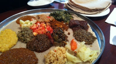 Photo of Ethiopian Restaurant Dukem at 1114 U St Nw, Washington, DC 20009, United States