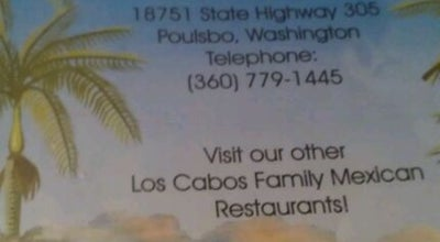 Photo of Mexican Restaurant Los Cabos at 18751 State Highway 305 Ne, Poulsbo, WA 98370, United States