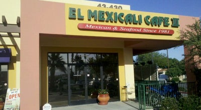 Photo of Mexican Restaurant El Mexicali Cafe II at 43430 Monroe St, Indio, CA 92201, United States