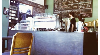 Photo of Cafe Mercury Organic Espresso Bar at 915 Queen St E, Toronto, ON M4M 1J4, Canada