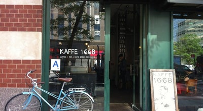 Photo of Coffee Shop Kaffe 1668 at 275 Greenwich St, New York, NY 10007, United States