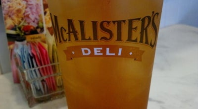 Photo of Sandwich Place McAlister's Deli at Carolina Place Mall, Pineville, NC 28134, United States
