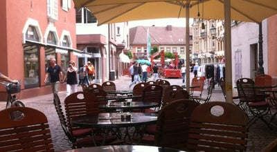 Photo of Ice Cream Shop Eiscafé Pierod at Kirchenplatz 5-7, Ettlingen 76275, Germany