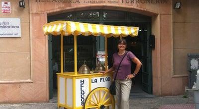 Photo of Dessert Shop La Flor Valenciana (heladería) at Plaza Del Ejército, 5, Ávila 05001, Spain