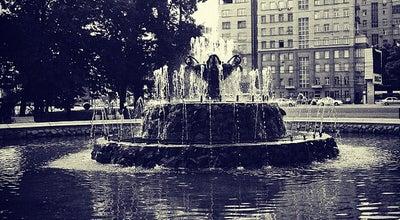 Photo of Plaza Болотная площадь at Болотная Пл., Москва 119072, Russia