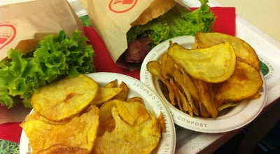 Photo of Burger Joint M** Bun at Corso Giuseppe Siccardi 8/a, Torino 10122, Italy