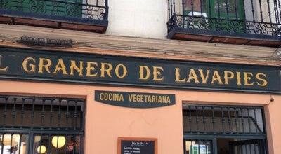 Photo of Vegetarian / Vegan Restaurant EL Granero de Lavapies at C. Argumosa, Madrid, Spain