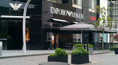 Photo of Italian Restaurant Emporio Armani Ristorante at İstinyepark, Sarıyer 34460, Turkey