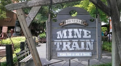 Photo of Theme Park Ride / Attraction The Runaway Mine Train at Six Flags Over Texas, Arlington, TX, United States