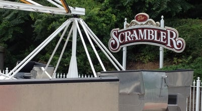 Photo of Theme Park Scrambler at Six Flags New England, Agawam, MA 01001, United States