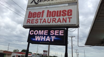 Photo of Steakhouse Russell's Steak House at 104 Highway 72 E, Corinth, MS 38834, United States