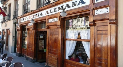 Photo of Tapas Restaurant Cervecería Alemana at Pl. De Santa Ana, 6, Madrid 28012, Spain