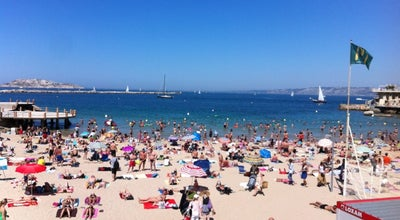 Photo of Beach Plage des Catalans at Rue Des Catalans, Marseille 13007, France