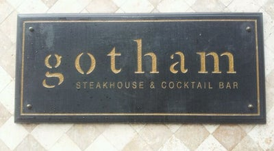 Photo of Steakhouse Gotham Steakhouse & Cocktail Bar at 615 Seymour St., Vancouver, BC V6B 3K3, Canada
