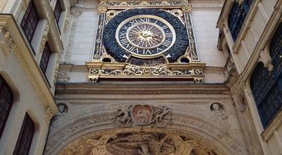 Photo of Historic Site Gros Horloge at Rue Du Gros Horloge, Rouen 76000, France