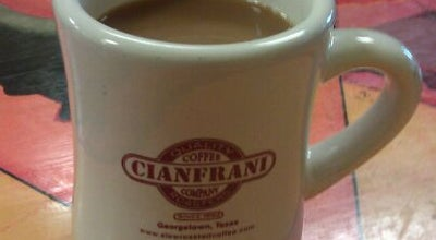 Photo of Coffee Shop Cianfrani Coffeehouse at 109 W 7th St, Georgetown, TX 78626, United States