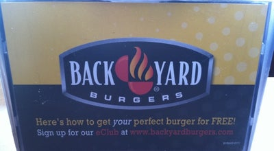 Photo of Burger Joint Back Yard Burgers at 3662 S Houston Levee Rd, Collierville, TN 38017, United States