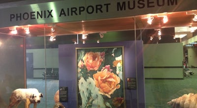 Photo of Art Museum Phoenix Airport Museum at 3400 E Sky Harbor Blvd, Phoenix, AZ 85034, United States