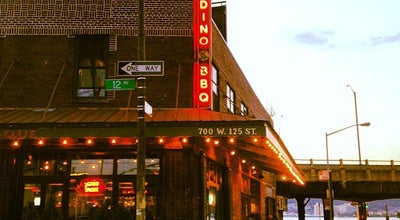 Photo of American Restaurant Dinosaur Bar-B-Que at 700 W 125th St, New York, NY 10027, United States