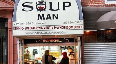 Photo of Other Venue Original Soup Man at 259 W 55th St, New York, NY 10019