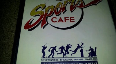 Photo of Bar Sports Cafe at 3579 Pennridge Dr, Bridgeton, MO 63044, United States