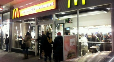Photo of Fast Food Restaurant McDonald's at Korte Lijnbaan 6, Rotterdam 3012 ED, Netherlands