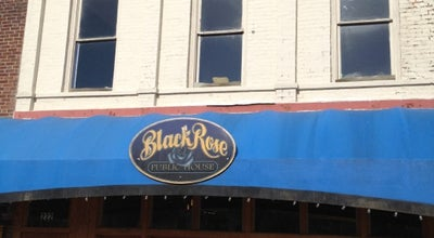 Photo of American Restaurant Black Rose Pub at 222 N Main St, Hendersonville, NC 28792, United States