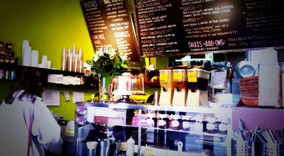 Photo of Middle Eastern Restaurant Taïm Falafel and Smoothie Bar at 222 Waverly Pl, New York, NY 10014, United States