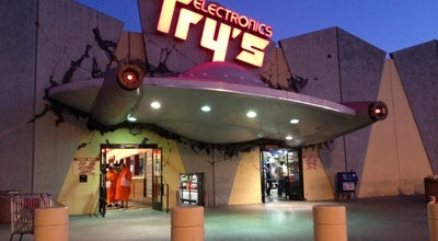 Photo of Electronics Store Fry's Electronics at 2311 N Hollywood Way, Burbank, CA 91505, United States