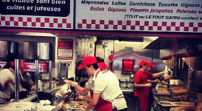 Photo of Burger Joint Five Guys Burgers & Fries at 468 Rue Mcgill, Montreal, QC, Canada