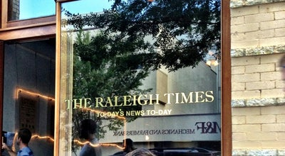 Photo of American Restaurant The Raleigh Times Bar at 14 E Hargett St, Raleigh, NC 27601, United States