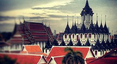 Photo of Buddhist Temple วัดราชนัดดาราม (Wat Ratchanatdaram) at 2 Mahachai Rd, Phra Nakhon 10200, Thailand