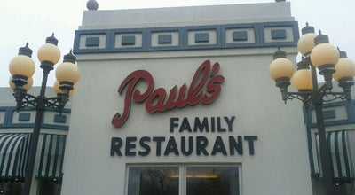 Photo of Greek Restaurant Paul's Family Restaurant at 1300 Lawrence Ave, Elgin, IL 60123, United States