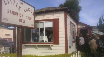 Photo of American Restaurant Little Lucca Sandwich Shop at 724 El Camino Real, South San Francisco, CA 94080, United States