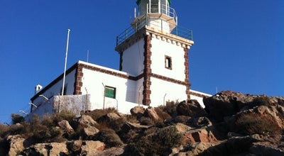 Photo of Lighthouse Φάρος (Lighthouse) at Ακρωτήρι, Σαντορίνη 847 00, Greece
