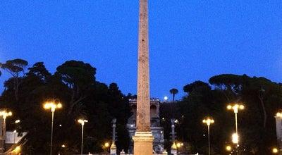 Photo of Monument / Landmark Obelisco Flaminio at Piazza Del Popolo, Roma, Italy