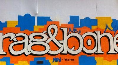 Photo of Clothing Store rag & bone at 73 East Houston St, New York, NY 10012, United States