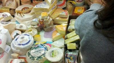 Photo of Cheese Shop Juustoliike Lentävä Lehmä at Hakaniemen Kauppahalli, Helsinki 00530, Finland